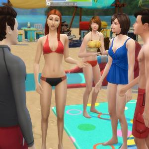 【推しシム学生寮#39】ビーチで遊ぼう・リベンジ
