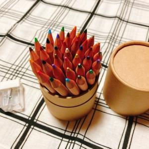 【無印良品】色鉛筆の色見本