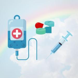 コロナワクチン前のリウマチ通院(アクテムラ6週)採血で血管見えやすくする方法はあるのか