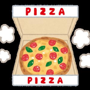 今日の夕食【ピザ】(49/181)
