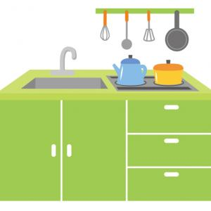 キッチン周辺コンセントの工夫