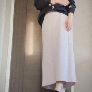 *〈着画〉GUのスカート カジュアルコーデ*