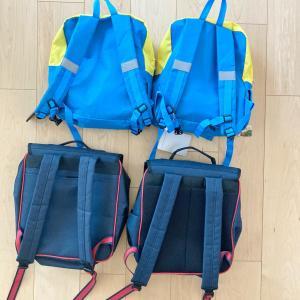 ダイソーアイテムで、習い事バッグをスッキリ収納!