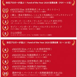 発表!!Fund of the year 2020
