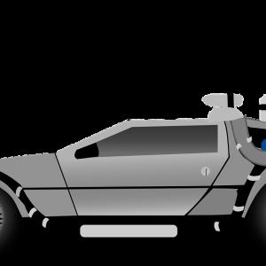 お台場で遭遇【デロリアン・DMC-12】バック・トゥ・ザ・フューチャーのアノ車