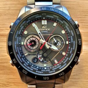2021年 アルファタウリ・限定モデルの最新腕時計(エディフィス)