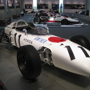 ホンダ初期の葉巻型F1マシン全6台 F1参戦第1期(1964~1968年)