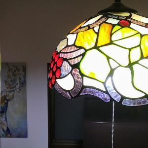 お迎えしたステンドグラス照明と会社勤めに思うこと