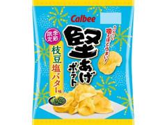 堅あげポテト 枝豆塩バター味