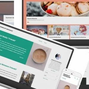 Blogger公式テーマEmporioカスタマイズ テーマデザイナー項目が多い