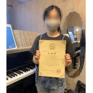 ピティナピアノコンペティション初挑戦の生徒さん♪
