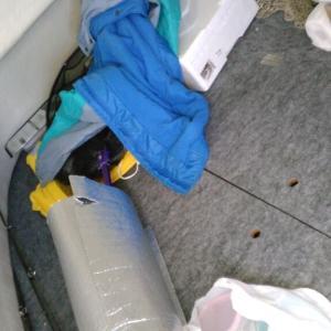 船の中 この下がトイレなのです