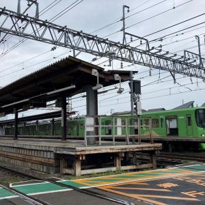 京王電鉄 8713編成 ラッピング車両 と 柴崎亭