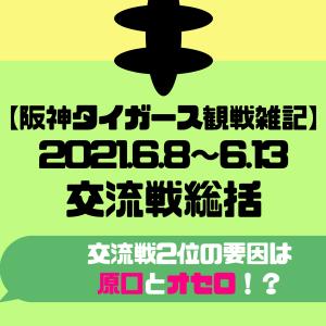 【阪神タイガース2021】6/8~6/13 交流戦総括!6連勝締め!【TV観戦雑記】