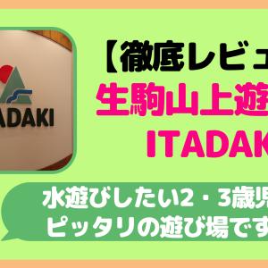 【徹底レビュー】生駒山上遊園地のITADAKI(いただき)は水遊びをしたい2・3歳児にぴったりの遊び場