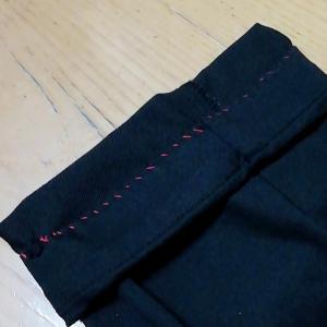 3日がかりの手縫い裁縫((+_+))