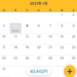 1/4収支 +40,442円(5/365)