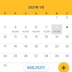 1/8収支 +415,198円(9/365)