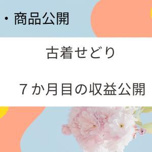 【古着せどり】7か月目のせどり収益公開【仕入れ先・商品公開】