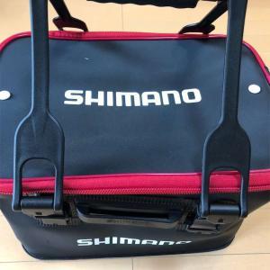 船釣りの荷物入れにシマノのバッカンEV BK-016Qを購入してきた