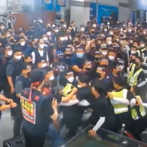 【バ韓国】現代製鉄、労組に不法占拠されて稼働不能の事態にwwww