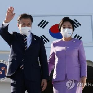 【ぼっちでパフォーマンス】国連総会のため訪米したバ韓国・文在寅www