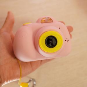 キッズカメラを3歳のお誕生日に!小さな子供でも使えるの?画質や性能レビュー!