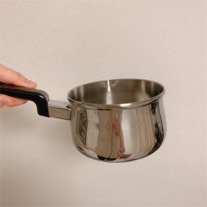 お湯が沸くのが遅くて困ってる人はコレ。フジノスのミルクパン。