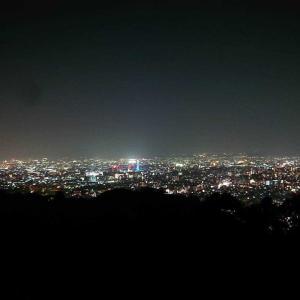 2つの夜景