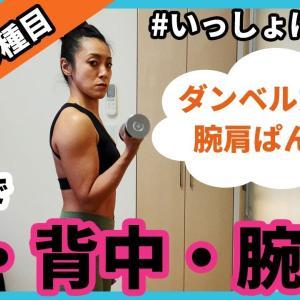 【D-114】自宅でできる上半身トレーニングの紹介