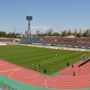 2021年4月11日 金沢vs千葉 石川県西部緑地公園陸上競技場