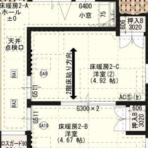 間取り紹介:2階の子供部屋(転落事故防止策)、廊下など
