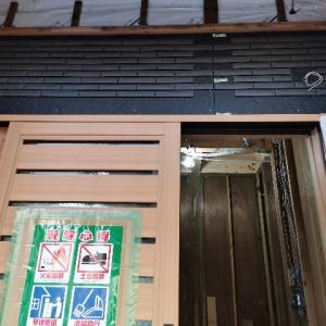 グランセゾン建築日誌:外壁、階段など