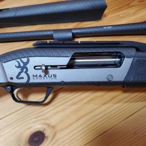 マクサスカンチレバー付き替え銃身