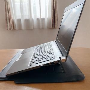ノートパソコンのケースはこれで決まり❗スタンドとリストレスト付きの「SINEX」がおすすめ