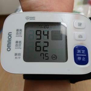 血圧、低め安定☺️