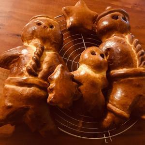 スイスのクリスマス③人型パン