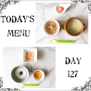 離乳食 Day 127