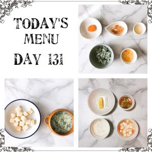 離乳食 Day 131
