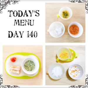 離乳食 Day 140