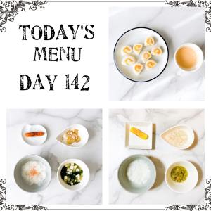 離乳食 Day 142 🧊フリージングストック🧊