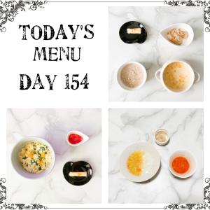 離乳食 Day 154 🧊フリージングストック🧊