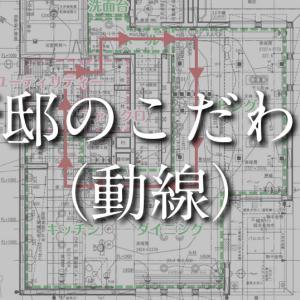 【WEB内覧会(着工合意時)】新邸のこだわりポイント(動線)