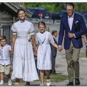 ヴィクトリア王太子44歳に。