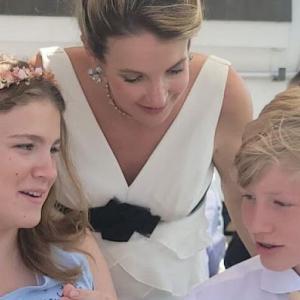 テシー元妃が結婚。
