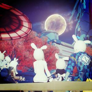 あの月、シーチキンの蓋みたいじゃない?