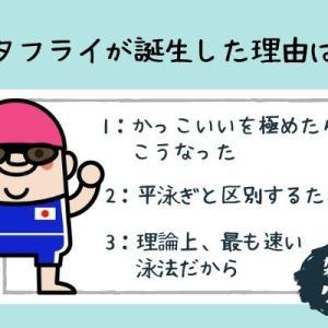 【雑学クイズ・スポーツ】バタフライ誕生秘話って知ってる?