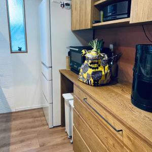オーブントースターを断捨離して買い物袋をおけるスペースを作りました