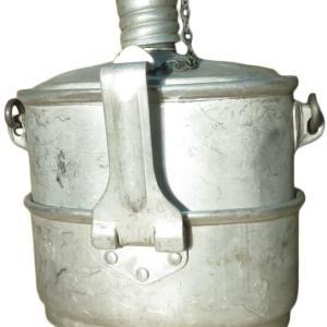 旧ソビエト連邦空挺作戦部隊の水筒と飯盒のセット -妄想通販 USSRの本物ミリタリークッカー編-