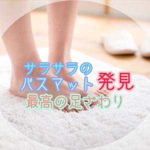 ニトリの珪藻土にかわる速乾バスマット【乾度良好】使ってみた感想!